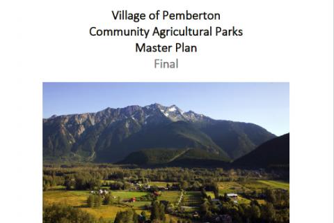 Pemberton Agricultural Parks Master Plan