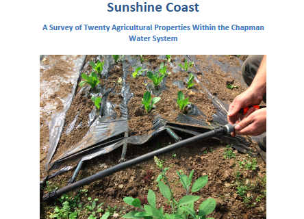Agricultural Water Use on the Sunshine Coast