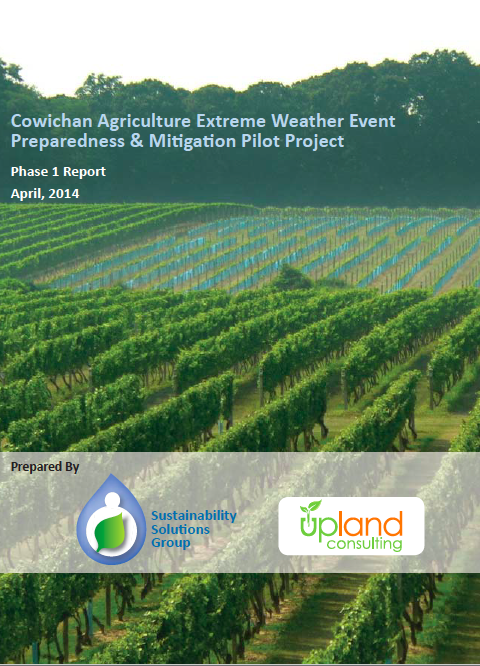 Cowichan Agriculture Extreme Weather Event Preparedness & Mitigation Pilot Project