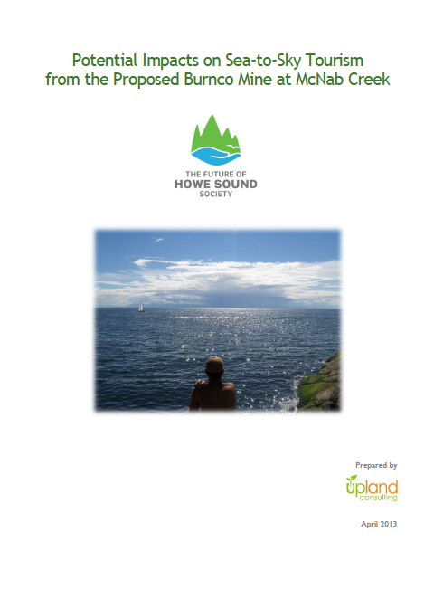 FHSS Report: Potential Impacts on Sea-to-Sky Tourism from the Proposed Burnco Mine at McNab Creek