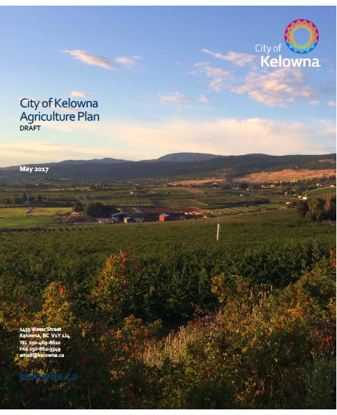 City of Kelowna Agricultural Plan