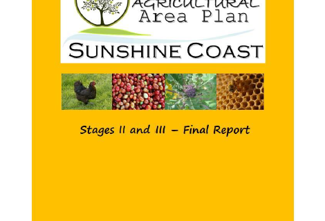 Sunshine Coast Agricultural Area Plan
