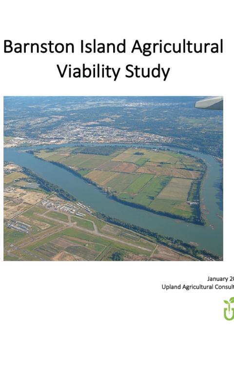 Barnston Island Agriculture Viability Study
