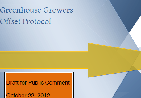 Greenhouse Growers Offset Protocol
