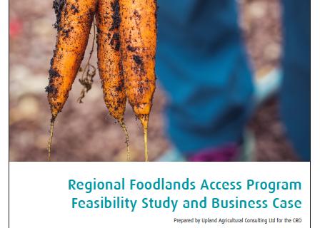 CRD Foodlands Trust Feasibility Study