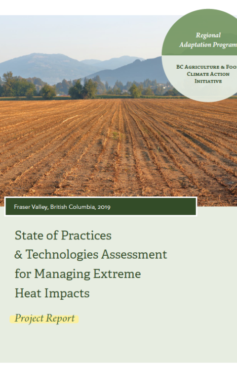 State of Practices & Technologies Assessment for Managing Extreme Heat Impacts