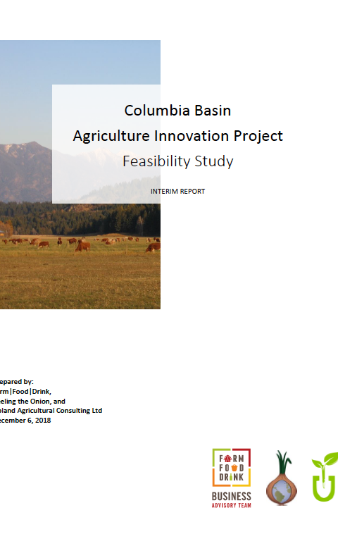 Columbia Basin Trust Agriculture Innovation Project