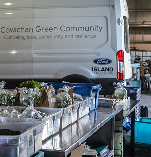 Increasing Cowichan Food in Local Institutions
